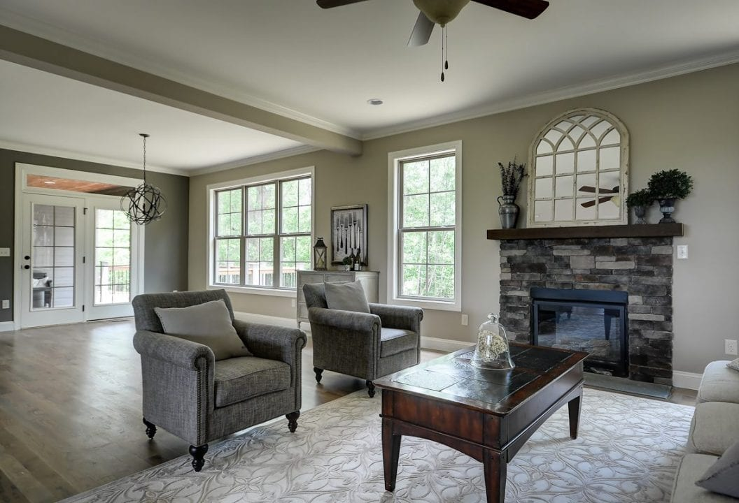Custom Home Builder Greenville, South Carolina Interior Design