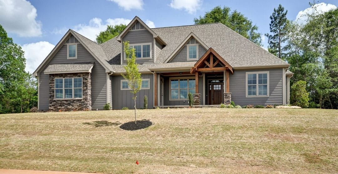 Custom Craftsman Home builder Greenville South Carolina