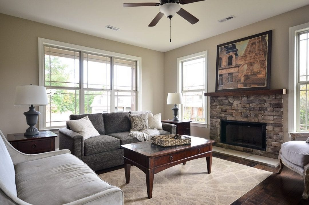 Custom Home Family Rooms Greenville SC