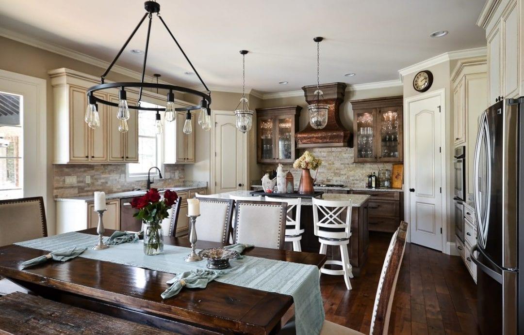 Custom Home Builder Kitchen Greenville, SC